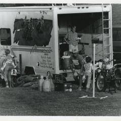 The much-used Hayden race rig. - Photo: Hayden Family Collection