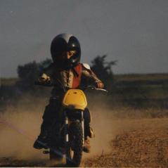 Nicky putting in laps early on at Sunset Downs. - Photo: Hayden Family Collection