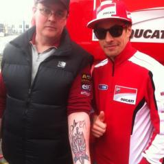 Le Mans fan tattoo - Photo: Nick Sannen