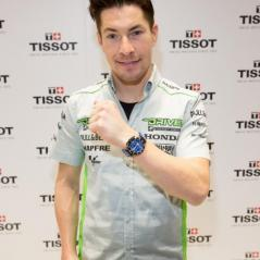 Nicky visiting Tissot NYC - Photo: TISSOT