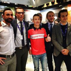 EICMA - Photo: www.nickyhayden.com