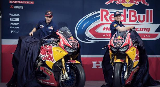 Team launch Red Bull Honda Ten Kate