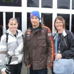Stacey and Claire Webb: Donington, 2008 - Photo: Fan