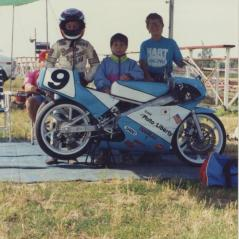 (From left) Nicky, Roger, and Tommy. - Photo: Hayden Family Collection