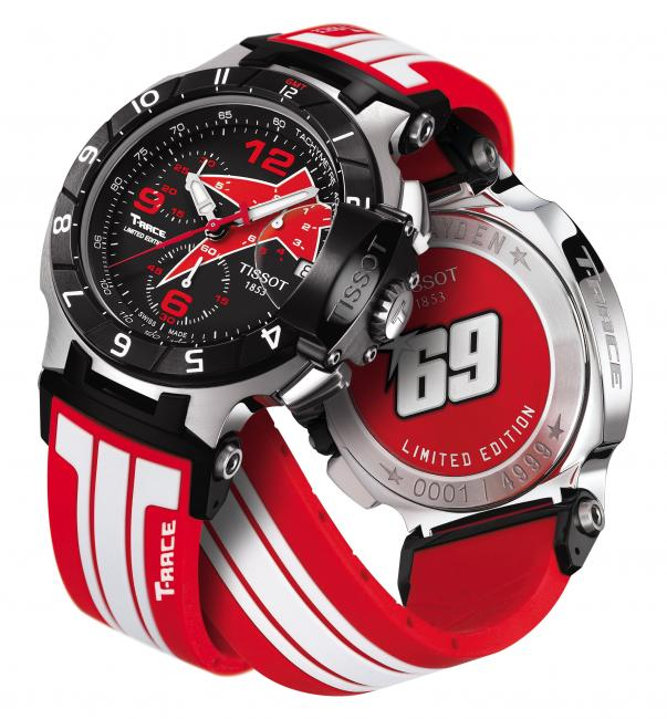 Discover the new Tissot T-Race Nicky Hayden Limited Edition 2012 - Nicky Hayden
