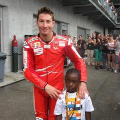 Jalil Palmer (USA): Indianapolis, 2009 - Photo: Fan