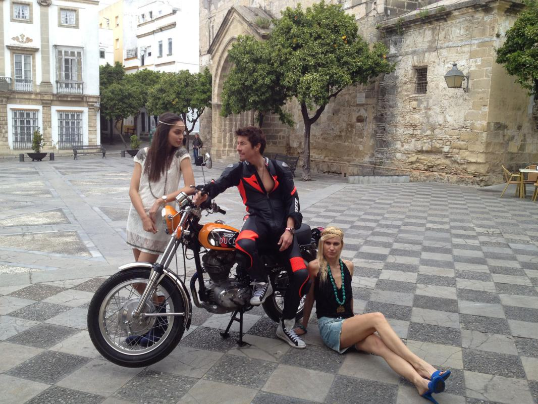 Tissot Shoot - Nicky Hayden